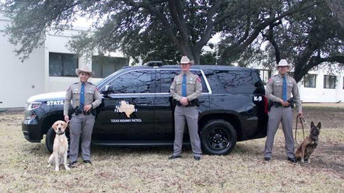 Three DPS troopers and two canines graduated from a nine-week training program on Friday,...