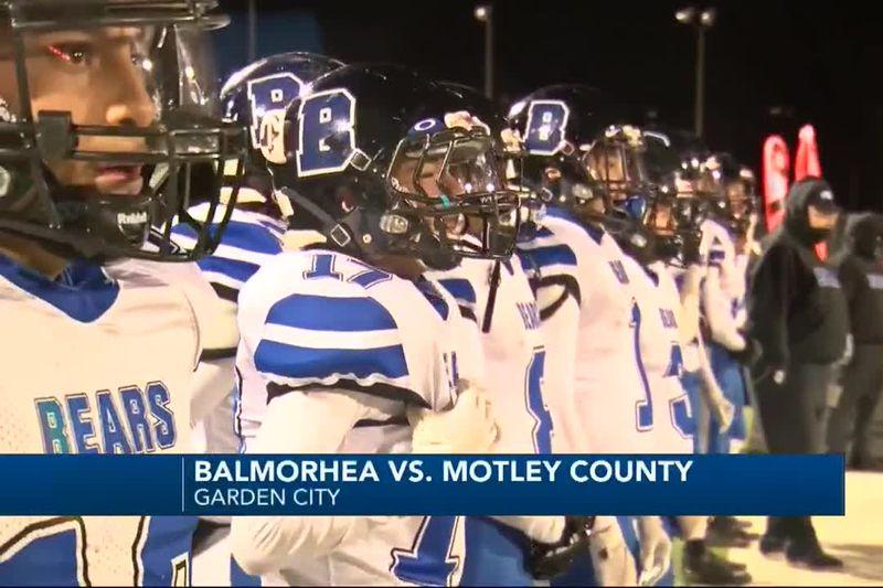 PLAYOFF HIGHLIGHTS: Balmorhea vs. Motley County