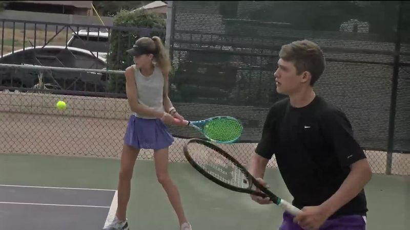 Midland's Sarah Stewart and Tyler Stewart