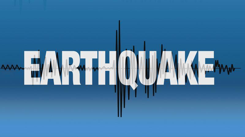 Generic earthquake graphic.