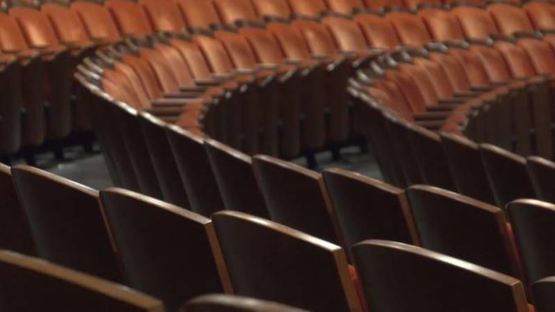 Seats at the Wagner Noël Performing Arts Center.