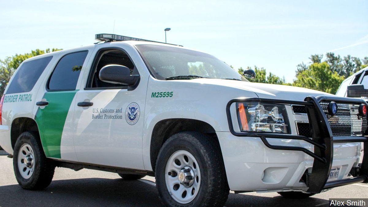 A U.S. Border Patrol vehicle.