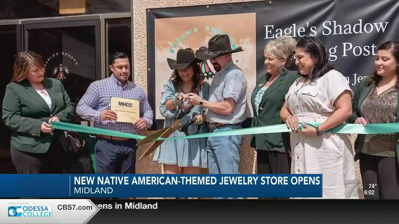 New Native-American themed store in Midland