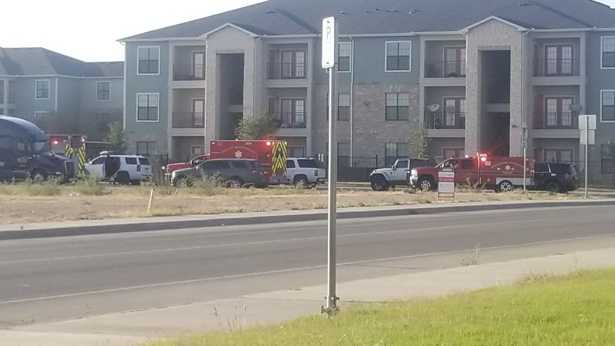 Midland Police and EMS responding to situation