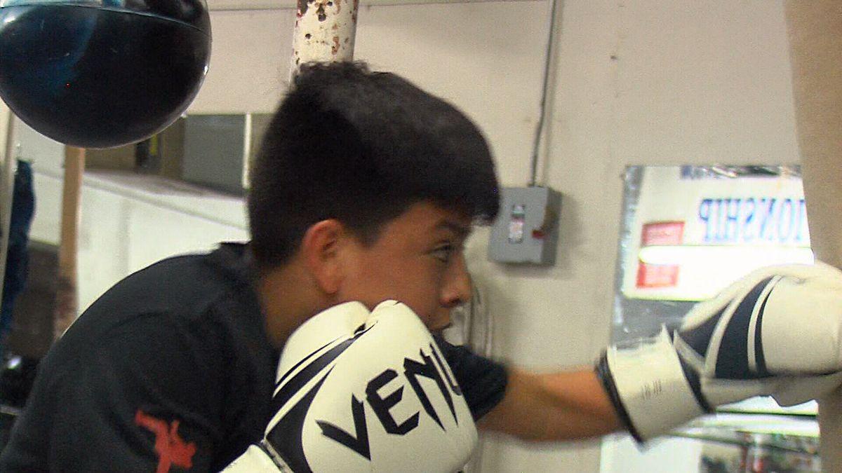 Golden Gloves amateur boxing tournament