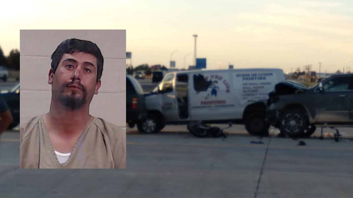 Rogelio Lujan, 38, has been charged with intoxication assault in a crash that sent two people...