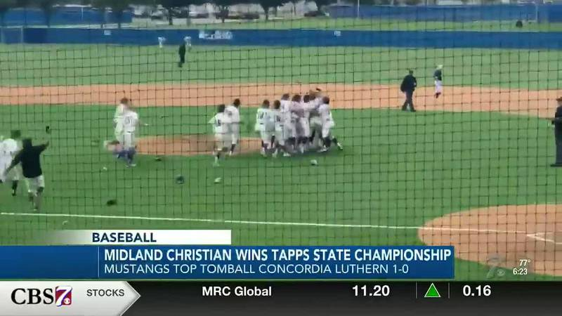 Midland Christian wins the TAPPS Division 1 State Championship