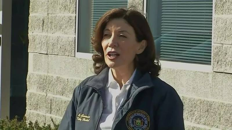 Kathy Hochul will become New York's first female governor once Cuomo's resignation is effective...