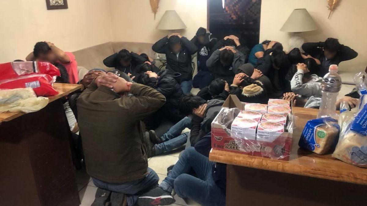 37 peole were found inside of a stash house in Presidio on Thursday.