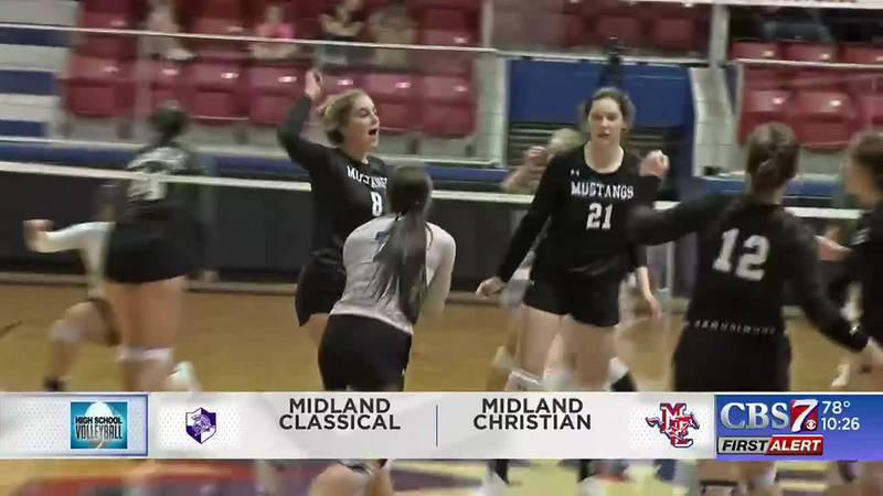 Midland Christian volleyball