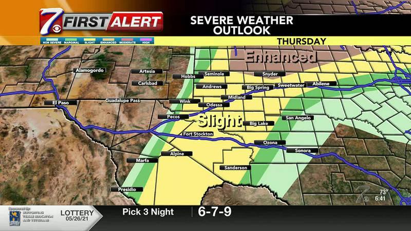 West Texas Weather Forecast 5/27