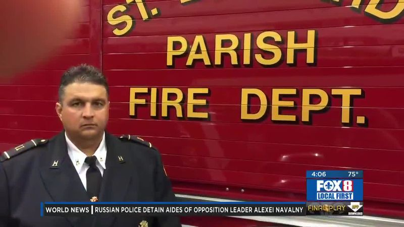 Neurological disorder linked to COVID-19 leaves La. firefighter paralyzed