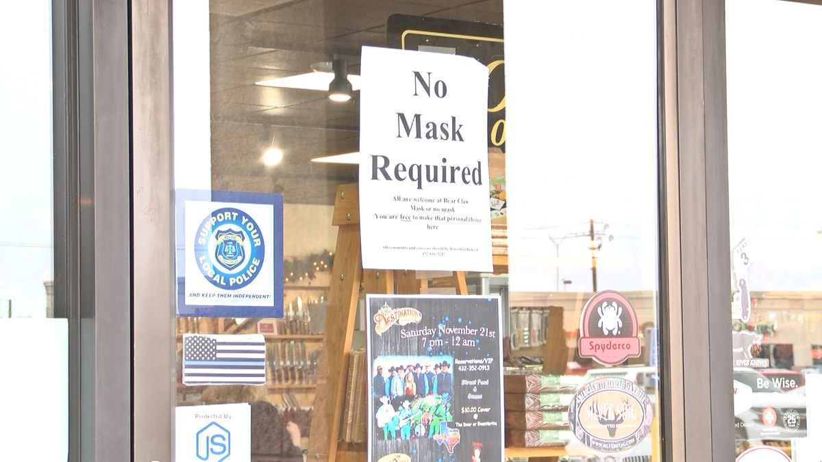Enforcing or not enforcing, the statewide mask ordinance was at the heart of the Midland city...