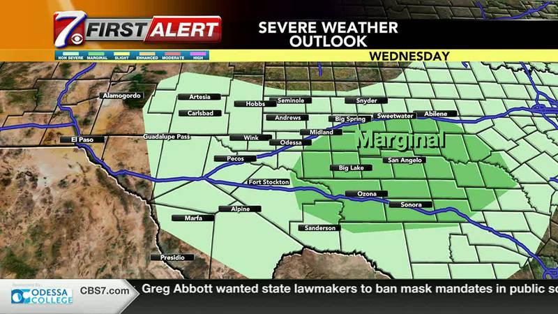 West Texas Weather Forecast 9/8