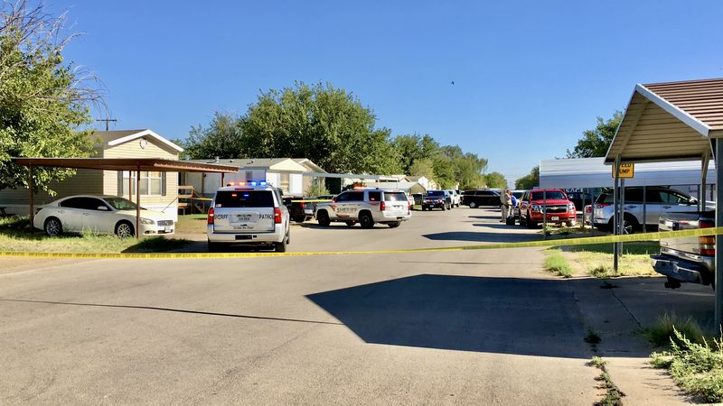 Midland County deputies are investigating a shooting at the Airline & Mobile Home RV Park.