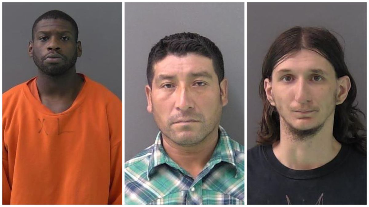 LEFT TO RIGHT: Anthony Xavier Antwon, Javier Perez and Brian Harley Flynn
