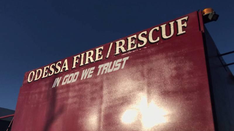 Odessa Fire Rescue vehicle. (CBS 7 File Photo)