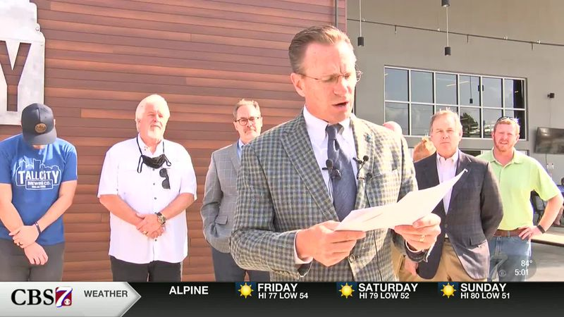 "Midland Mayor Patrick Payton: ""The Tall City is open"""
