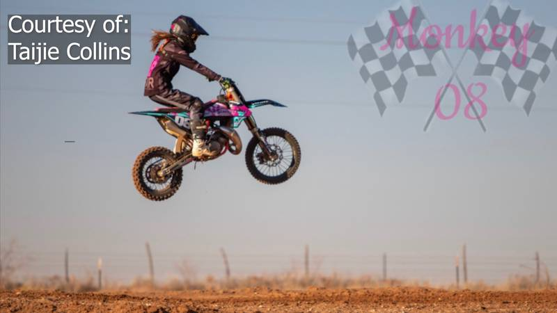 Taijie Collins will be competing at the Amateur National Motorcross Championship at Loretta...