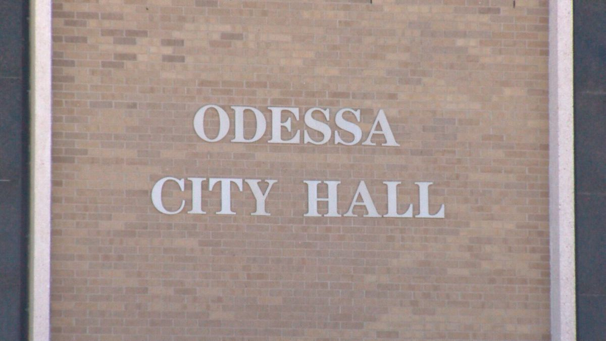 Odessa City Hall. (CBS 7 File Photo)