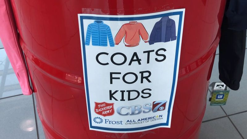 Drop you new or gently used coats of all sizes