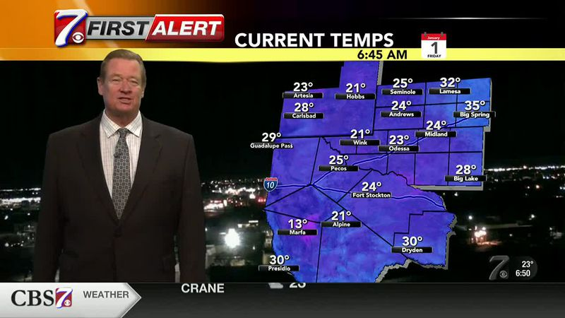 Cold temperatures to continue Friday