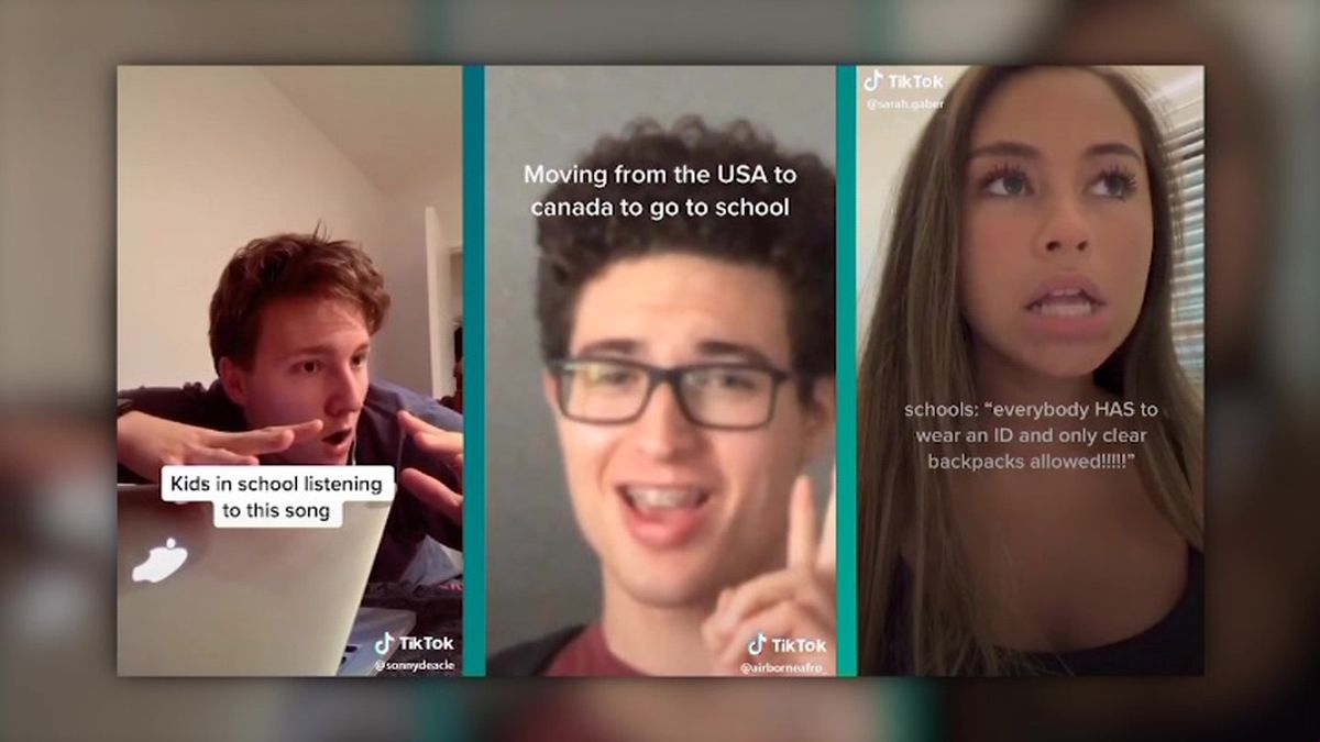 Lawmakers say China may be using social media TikTok to spy on Americans. (Source: TikTok/CNN)