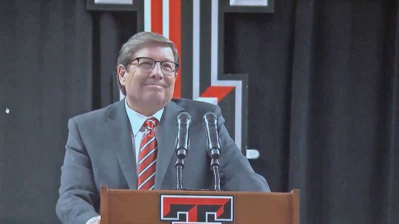 Texas Tech men's basketball coach Mark Adams