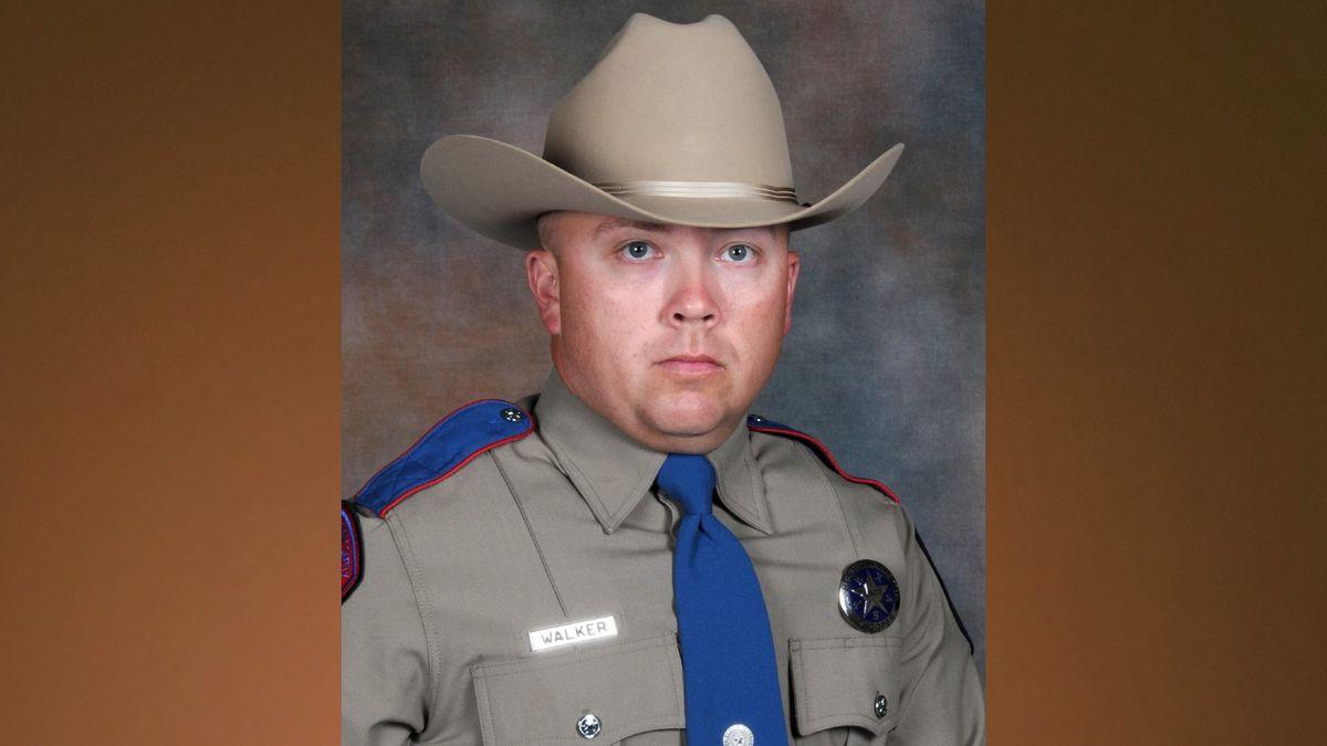 Texas State Trooper Chad Walker