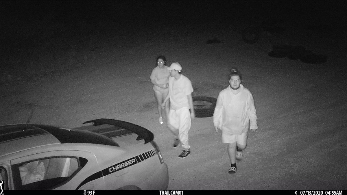 Authorities believe these three suspects started several fires in West Odessa.