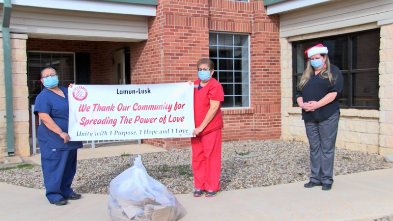 'Operation Love Letters' set out on a mission to show people in nursing homes that they are...