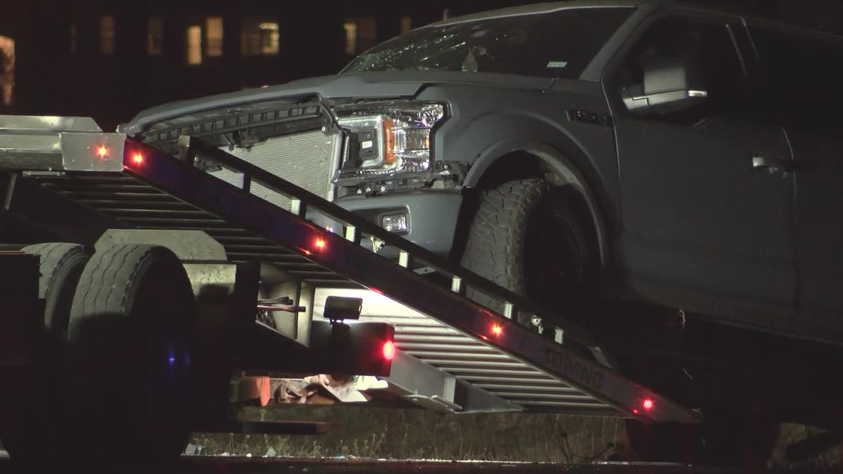 Police say a driver was traveling the wrong direction when they crashed head-on into an F-150...