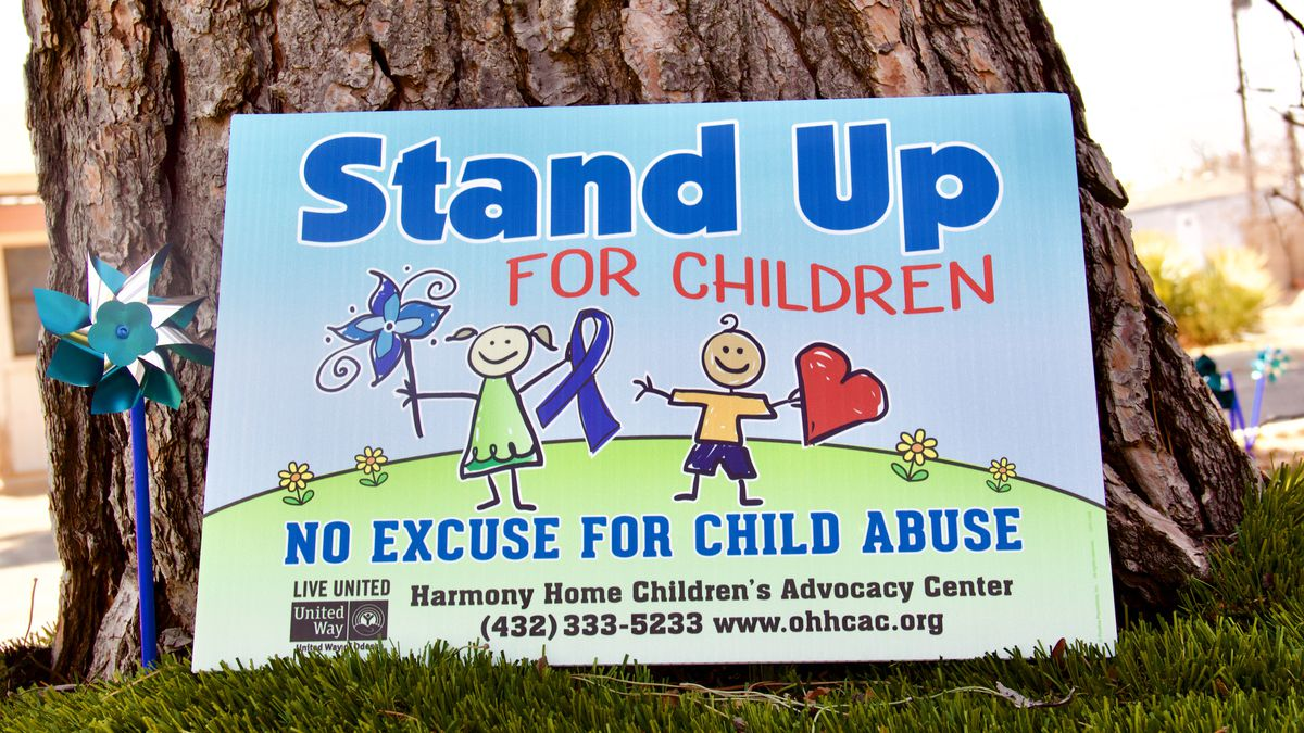 Harmony Home is hoping to bring attention to child abuse by planting blue pinwheels across...