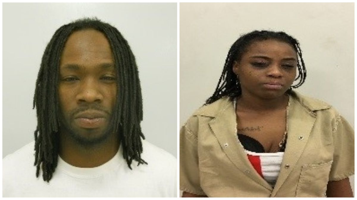 Brady Baldwin III, 39, and Devasia Jenae Green, 30. (Mugshots: Big Spring Police Department)
