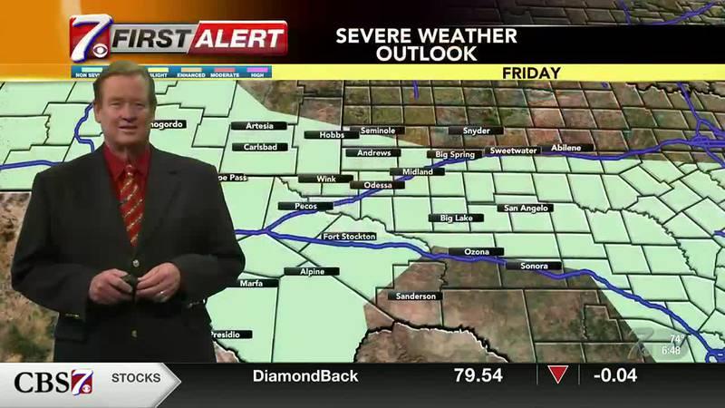 West Texas Weather Forecast 7/30