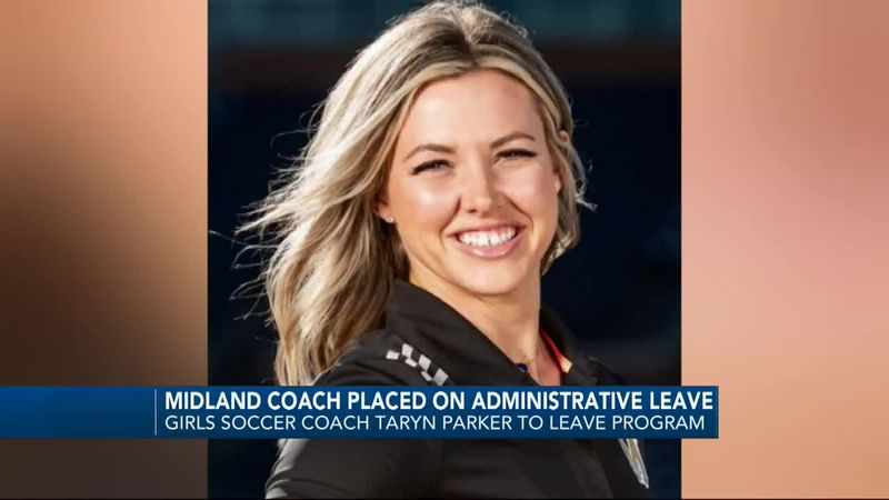 Midland soccer coach placed on administrative leave