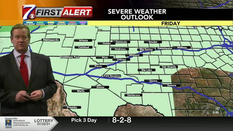 West Texas Weather Forecast 7/23