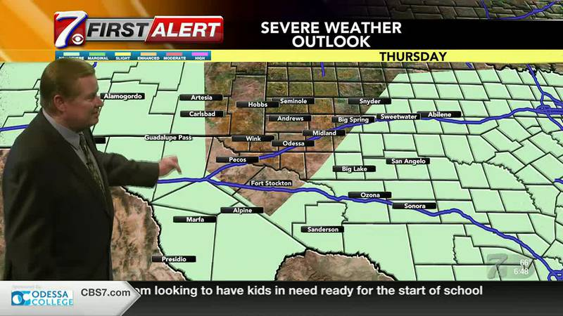 West Texas Weather Forecast 7/29