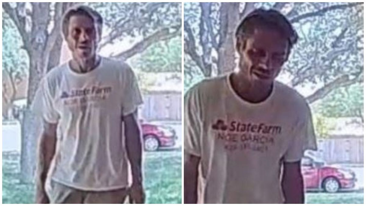 Odessa police say this man has stolen packages from several homes.