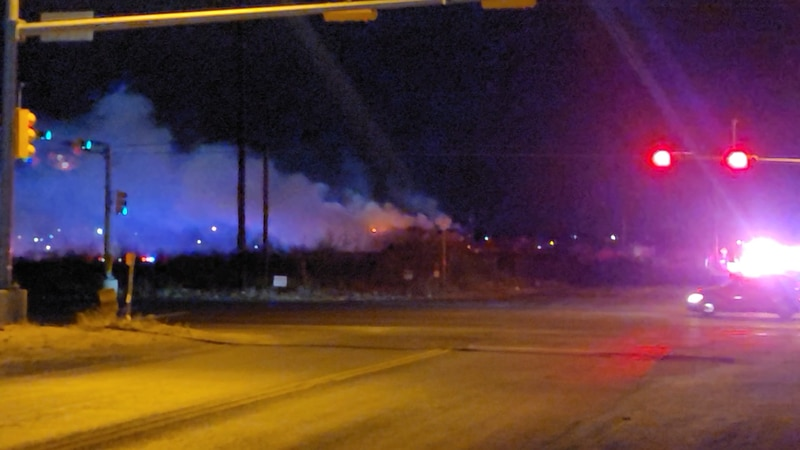 Fire near W 16th and Redondo in West Odessa 2/25/2021