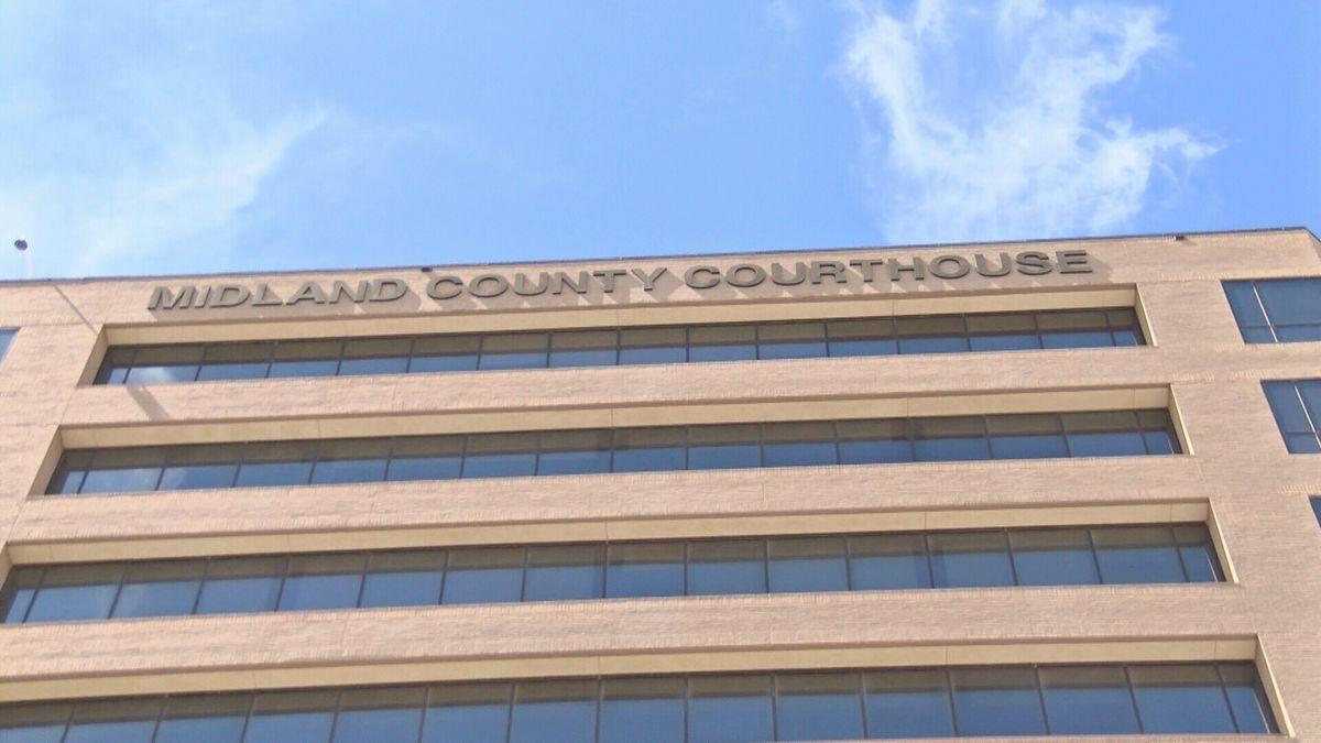 Midland County Courthouse. (CBS7 File Photo)