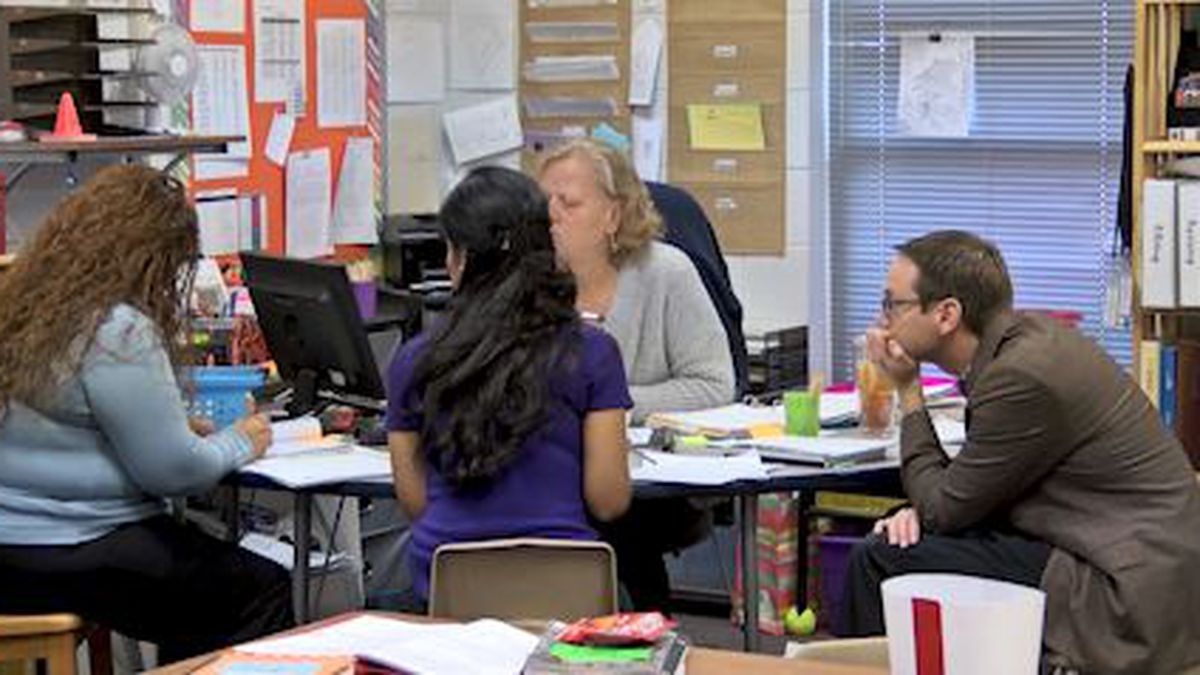 The commissioner of the Texas Education Agency visited one West Texas school on Wednesday morning.