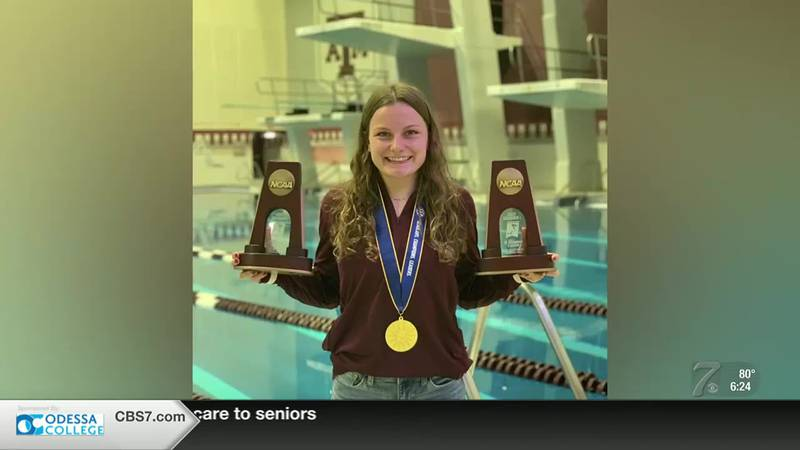 Midland diver ready for Olympic trials