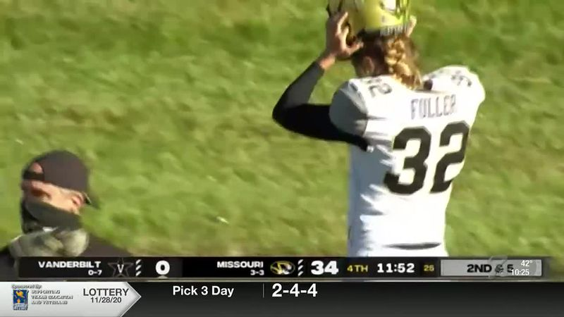 Fuller became the first woman to participate in a Power Five conference football game when she...