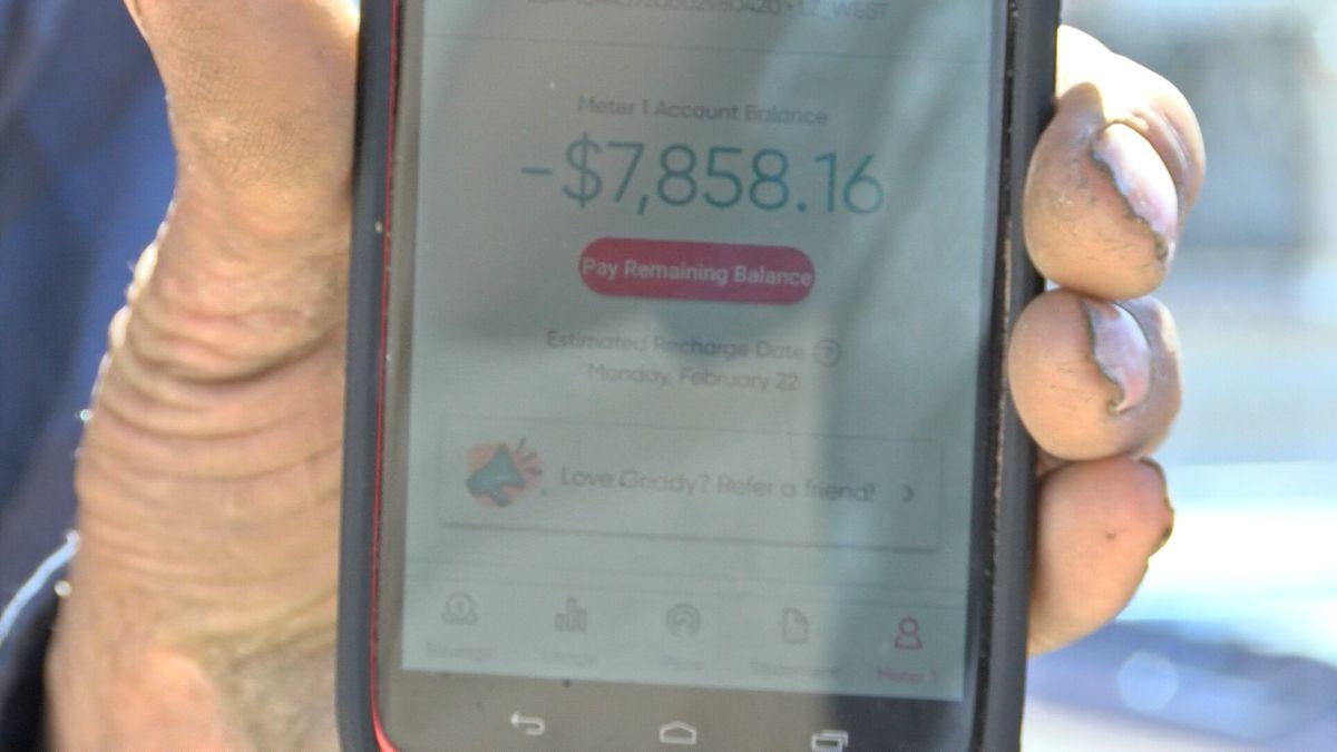 An Odessa man was spending nine hundred dollars per kilowatt as the demand for electricity...