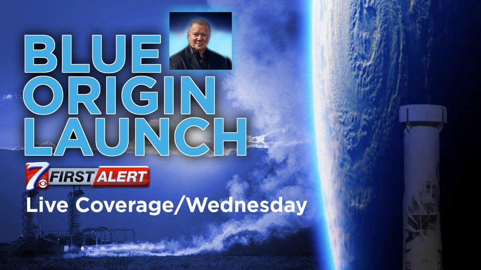 Watch live coverage of Wednesday's launch on CBS7.