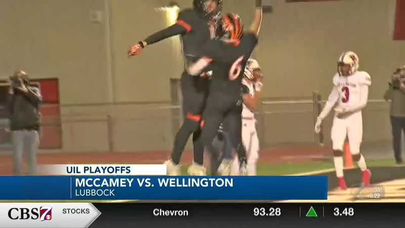 McCamey falls after fast start against Wellington in quarterfinals