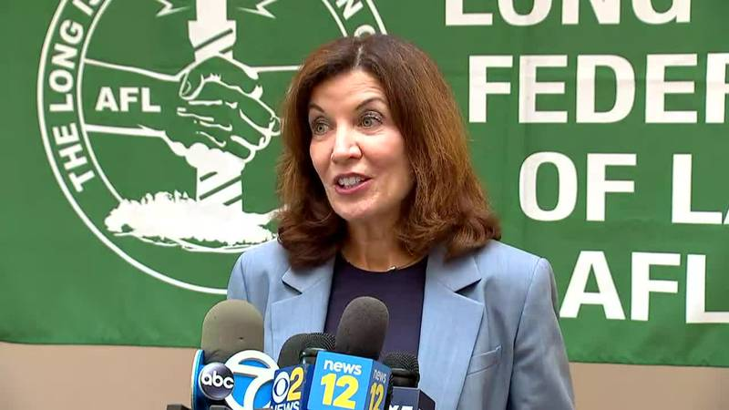 Kathy Hochul has become New York's first female governor. She's taking control of a state...
