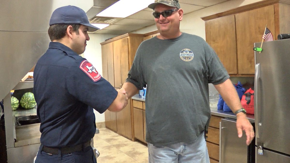 More than 200 people chipped in to show first responders they've been appreciated every day since September 11th.