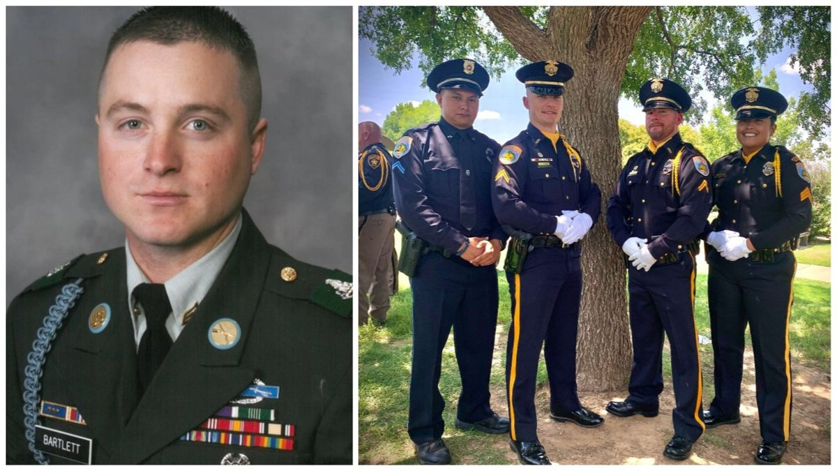 The Odessa Police Department's Honor Guard attended Sergeant Josh Bartlett's funeral in Lubbock.